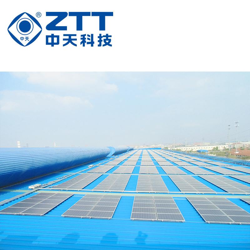 中天科技 太阳能发电 工商业屋顶光伏发电系统解决方案-50Kw